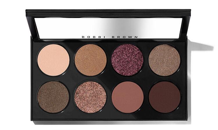 8 Pan Eyeshadow Palettes in cool tone