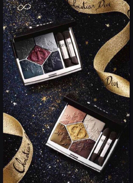 5 Couleurs Couture Golden Nights Eyeshadow Palette (サンク クルール クチュール ゴールデン ナイツ アイシャドウ パレット)