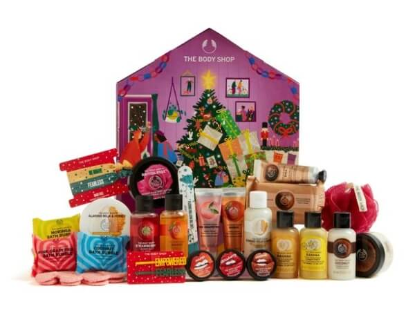 The Body Shop Make It Real Together Advent Calendar (ボディーショップメイク イット リアル トゥギャザー アドベントカレンダー)