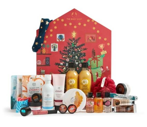 The Body Shop Make It Real Together Big Advent Calendar (ボディーショップメイク イット リアル トゥギャザー ビッグ アドベントカレンダー)