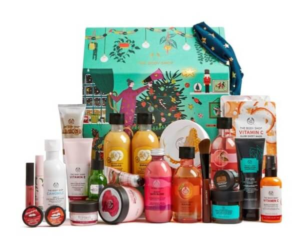 The Body Shop Make It Real Together Ultimate Advent Calendar (ボディーショップメイク イット リアル トゥギャザー アルティメイト アドベント カレンダー)